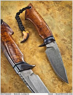 Knife Pic of the Day: The Hurak Fighter is by Belgium's Samuel Lurquin, who earned his ABS journeyman smith stamp at the 2013 #BLADEShow. http://www.blademag.com/?utm_content=buffere38ac&utm_medium=social&utm_source=pinterest.com&utm_campaign=buffer #knifecommunity #knifenuts #knifemaking #knifecollecting