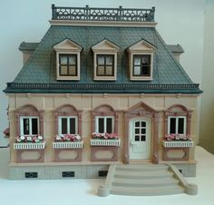 Vintage Playmobil Mansion 1989  Victorian by VintageThatandThis