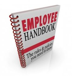 Employee Handbook Is The Best Manual For Staff  Employee Handbook