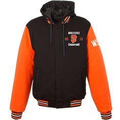 San Francisco Giants 2014 World Series Champions Fleece Reversible Varsity Jacket - MLB.com Shop