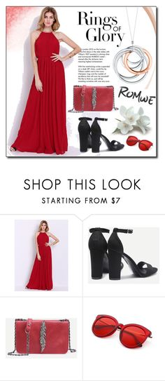 """""""ROMWE 8"""" by woman-1979 ❤ liked on Polyvore featuring Tiffany & Co."""