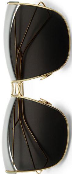 Dior So Electri Square Sunglasses White-Gold