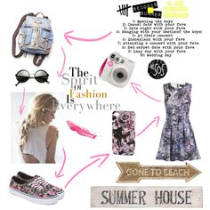 """summer 1"" by jessicadhy on Polyvore"