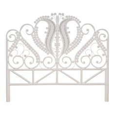 The Delicately Ornate King Bed Heads These Curling Whirling Statement Pieces That Sit Proudly