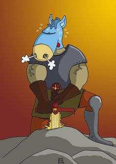 Le chevalier par Sanrankune