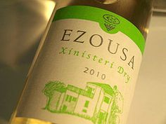 Ezousa - 100% Xynisteri is a golden expression of summer, an aspiration of a river wine
