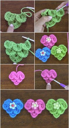 crochet diy Easy And Adorable Free Crochet Patterns Women always want to do something extraordinary at their home like free crochet pattern activities and many other things. Crochet Flower Tutorial, Crochet Flower Patterns, Crochet Stitches Patterns, Crochet Designs, Knitting Patterns, Diy Crochet Flowers, Afghan Patterns, Amigurumi Patterns, Diy Flowers