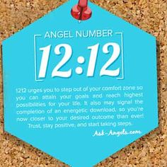 "Is 1212 an ""Angel Number? brings a message for you from your angels yes, but there's sooo much more to this Ascension Code and Spiritual Awakening # Spiritual Guidance, Spiritual Awakening, Spiritual Meaning, Spiritual Life, Angel Number Meanings, Numerology Numbers, A Course In Miracles, Messages, Spirit Guides"