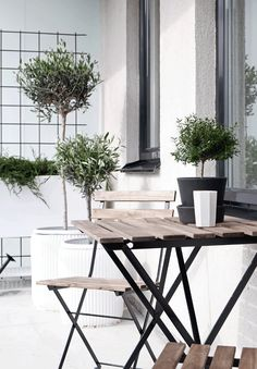 Create a stylish green balcony in the city - Stil Inspiration