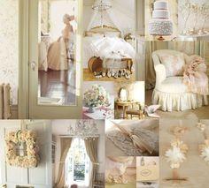 Peaches and Cream Ivory Champagne Pink Rose Peach Wedding Decor 14  www.nelliadesigns.com  www.nellybean.etsy.com