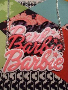 Nicki Minaj barbie pendent necklace. by LickMyCandy1 on Etsy, £3.00