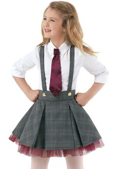 Weissman®   Cotton Shirt & Plaid Jumper  Revolting Children