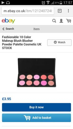 Blush palette so pretty x