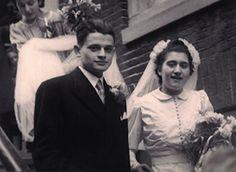 Jules Schelvis and his wife Rachel