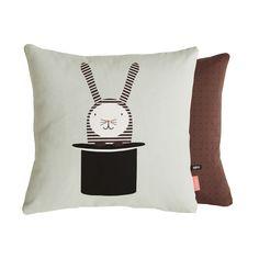 OYOY rabbit in hat cushion Tom Dixon, Cozy Chair, Bed Linen Design, Modern Shop, Cushions, Pillows, Modern Kids, Burke Decor, Kids Store