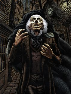 Scrooge by Douglas Smith Graphic Design Illustration, Graphic Art, Illustration Art, Christmas Carol Charles Dickens, Douglas Smith, Scratchboard Art, Silk Screen Printing, Great Artists, All Art
