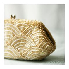 vintage sequin clutch