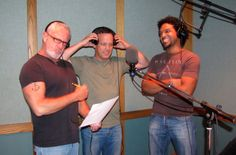 The Dassies! Charles Adler, Dee Bradley Baker, Khary Paton — with Charles Adler, Dee Bradley Baker and Khary Paton. Dee Bradley Baker, Frank Welker, Make A Character, Voice Actor, Most Favorite, My Childhood, The Voice, Meet, Characters
