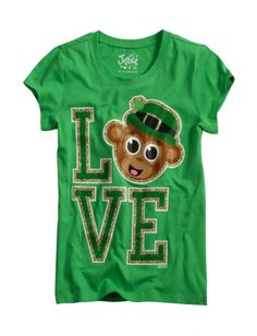 Cute girls St. Patty's Day shirt from Justice!
