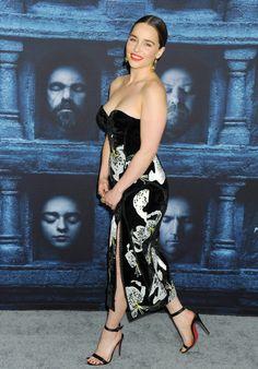 April 10: Game of Thrones Season 6 Premiere - 0410 GoTSeason6Premiere 0229 - Adoring Emilia Clarke - The Photo Gallery