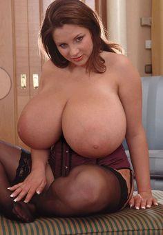 Nadine Jansen Mega Busty Breasts!