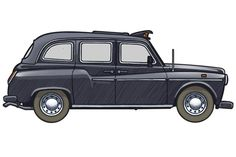 london taxi drawing - Google Search