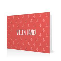 Dankeskarte Hummel Hummel in Koralle - Klappkarte flach #Geburt #Danksagungskarten #Mädchen https://www.goldbek.de/detail/index/sArticle/567?color=koralle&design=c2278