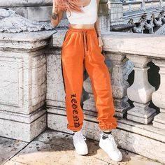 Activewear Frugal Vintage Nike Sport Womens Gray Loose Fit Tracksuit Pants Size L Trousers Long Delicacies Loved By All
