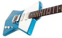 <p>St. Vincent's new guitar is ergonomic, lightweight, and sleek.</p>