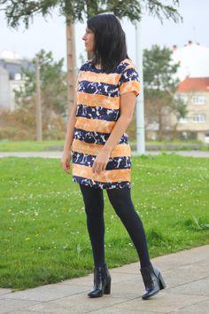 #orangemood #mood #fashion #fashionblogger #fashionblog #moda #mode #pepejeans #dress #orange