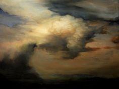 Cloud 14 - Ambera Wellmann (oil on Beechwood, x Sky Landscape, Contemporary Landscape, Landscape Paintings, Nature Paintings, Oil Paintings, Sky Painting, Painting & Drawing, Kitsch, Ocean Wallpaper