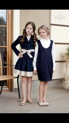 Buying Girls Clothing Online Papilio Kids is part of Kids School Clothes - With some simple tips in mind, make your experience safe and pleasant when buying girls clothing online Cute School Uniforms, School Uniform Fashion, Kids Uniforms, School Uniform Girls, Little Girl Fashion, Little Girl Dresses, Fashion Kids, Girls Dresses, Kids School Clothes