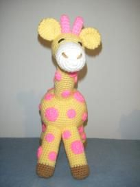 Crocheted Giraffe...LOVE!