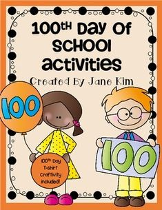100th Day of School Activities and Craftivity-Grade K to 2