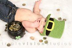 Children's St. Patrick's Day Leprechaun Green by Babyinthehat, $28.00