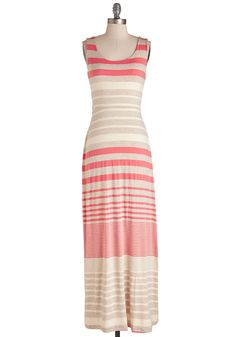 That Sunny Feeling Dress. That feeling you get when you don this brightly striped maxi dress? #multi #modcloth