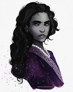 """11 Likes, 1 Comments - @whereisnovember on Instagram: """"Drawing Selene from Cleopatra's Daughter and my fanfic, Eyes of Dust (it's on FFnet, told in my bae…"""""""