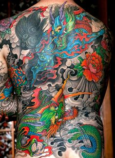 The Exceptional Art Of Japanese Tattooing
