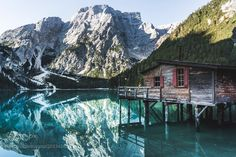 Popular on 500px : Cabin on the Water by michaelrizzi