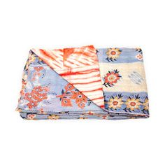 I'm in love with these Kantha Quilts made from vintage saris. $99