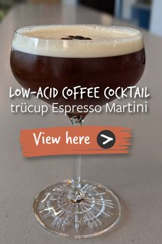 Coffee Cocktails, Cocktail Drinks, Fun Drinks, Yummy Drinks, Alcoholic Beverages, Easy Drink Recipes, Alcohol Drink Recipes, Coffee Recipes, Wine Mixed Drinks