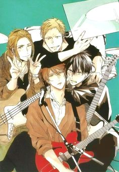 Imagenes acerca del nuevo anime Given y su manga Otaku Anime, Anime Boys, Manga Anime, Tv Anime, Anime Amor, Comic Anime, Manga Boy, Dragon Ball, Shounen Ai Anime