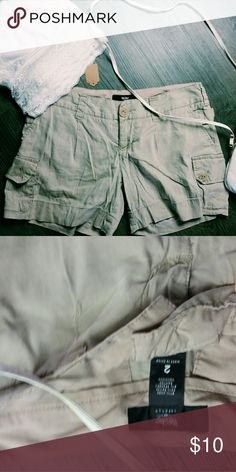 Khaki shorts Cute and in great condition! B4 Mossimo Supply Co Shorts