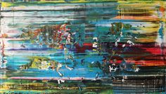 Vision new acrylic painting on canvas 100 cm x 70 cm NO.322
