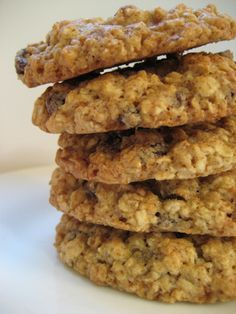 Grandma's Chewy Oatmeal Cookies - recipe from the Quaker Oats Box from the 1960's @ cooks.com (photo by flaschenpostpics, via Flickr)