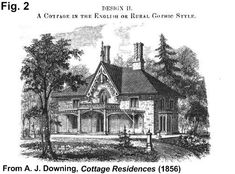 carpenter gothic cottage - Google Search