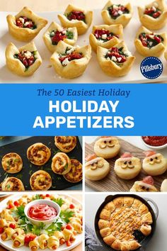 From new twists like a pull-apart crescent Christmas tree to tried-and-true classics like baked brie, make this holiday season the easiest (and most delicious) one ever with these quick, crowd-pleasing apps. They are hand-picked with quick prep and fast cooking times in mind, making them perfect for the busy party season! Christmas Tree, Christmas Desserts, Christmas Party Food, Christmas Brunch, Christmas Cooking, Xmas, Simple Christmas, Christmas 2017, Easy Holiday Appetizers