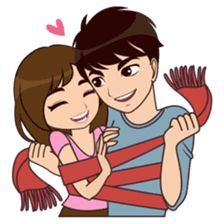All About You by AMSTICKERS Cute Drawings Of Love, Girly Drawings, Love Cartoon Couple, Cute Love Cartoons, Romantic Anime Couples, Cute Couples, Relationship Picture Quotes, Mommy And Baby Pictures, Good Morning Love Messages