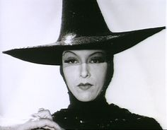 "Gale Sondergaard test shot for ""The Wizard of Oz"". She was up for the role of the Wicked Witch when they were considering a more glamorous version."