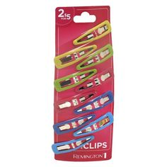 Remington Girls Bright Contour Clips - 10 Pack